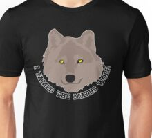 I tamed the maths wolf! Unisex T-Shirt
