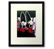 my favorite shoes Framed Print