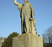 John Knox statue Stirling Scotland by John Butterfield