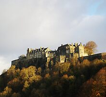 Stirling castle Scotland in late November by John Butterfield