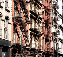 Fire Escapes - New York City by michael6076