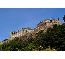 Stirling castle Scotland  Photographic Print