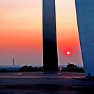 Air Force Memorial Sunrise by michael6076