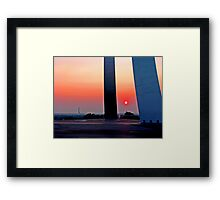 Air Force Memorial Sunrise Framed Print