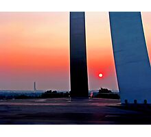 Air Force Memorial Sunrise Photographic Print