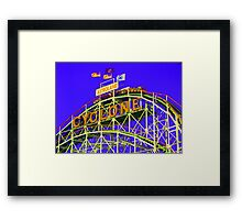 The Cyclone - Coney Island Framed Print
