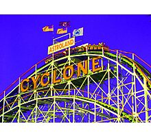 The Cyclone - Coney Island Photographic Print