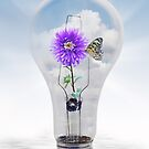 Flowering Bulb by Maria Dryfhout