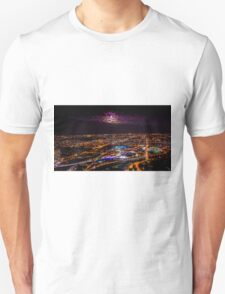 Blood Moon Rising Over Melbourne Victoria - 28 Sep 2015 Unisex T-Shirt