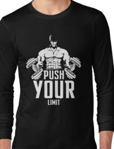 Roronoa Zoro Train Hard And Push Your Limit  Long Sleeve T-Shirt
