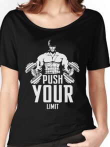 Roronoa Zoro Train Hard And Push Your Limit  Women's Relaxed Fit T-Shirt
