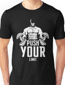 Roronoa Zoro Train Hard And Push Your Limit  Unisex T-Shirt