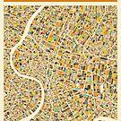 BANGKOK MAP by JazzberryBlue