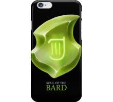Soul of the Bard -black iPhone Case/Skin