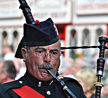 Bandsman by cameraimagery