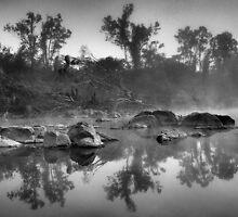 mystic river by Matthew Larsen