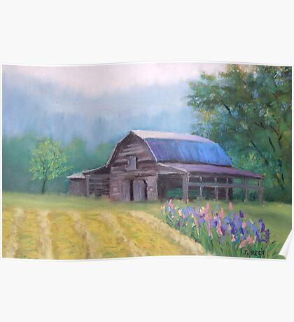 Mountain Barn Poster
