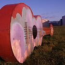Giant steel guitar by millymuso