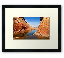 Follow the Flow Framed Print