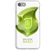 Soul of the Bard -white iPhone Case/Skin