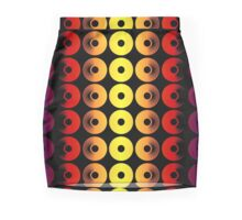 Abstract Discs of Pottery Mini Skirt