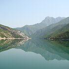 Lake Koman by Steve Falla