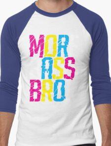 More Bass Bro  Men's Baseball ¾ T-Shirt
