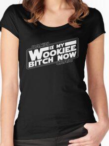 Daniel is my Wookiee Women's Fitted Scoop T-Shirt
