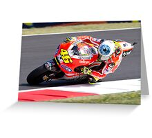 Valentino Rossi 46 Greeting Card