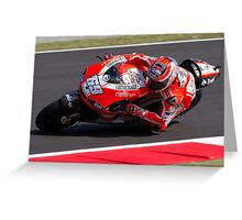 Nicky Hayden 69 Greeting Card