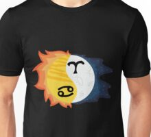 Cancer Sun, Aries Moon Unisex T-Shirt