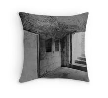 Round Tower Throw Pillow