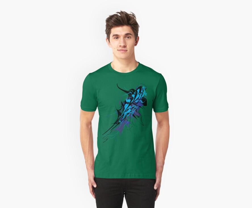 Abstract Design - Blue/Black by designerjenb