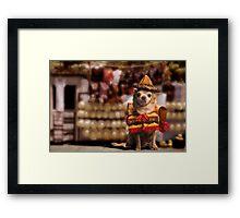 Chihuahua Bandito Framed Print