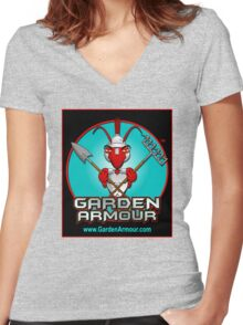 Garden Armour Women's Fitted V-Neck T-Shirt