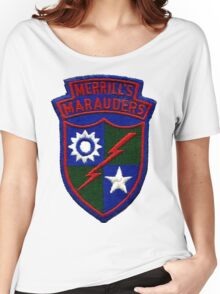 Merrill's Marauders Logo Women's Relaxed Fit T-Shirt