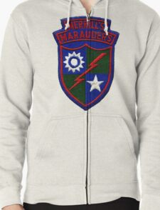 Merrill's Marauders Logo Zipped Hoodie