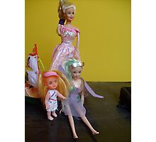 Doll family Photographic Print