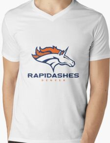 Denver Rapidashes  Mens V-Neck T-Shirt