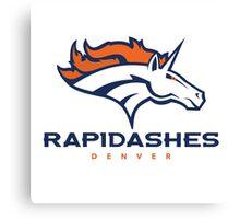 Denver Rapidashes  Canvas Print