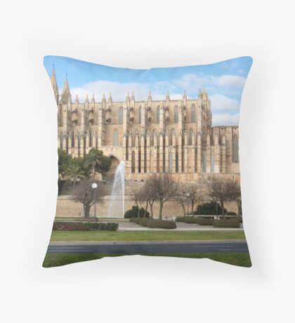 La Seu Throw Pillow