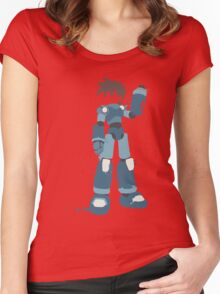 Mega Man (Legendary Mode) Women's Fitted Scoop T-Shirt