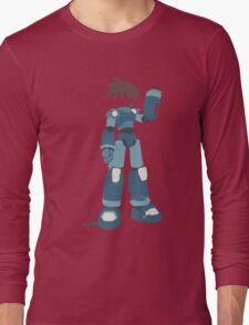 Mega Man (Legendary Mode) Long Sleeve T-Shirt