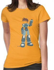 Mega Man (Legendary Mode) Womens Fitted T-Shirt