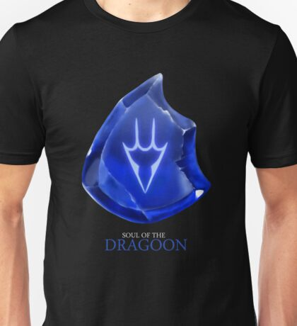 Soul of the Dragoon -black Unisex T-Shirt