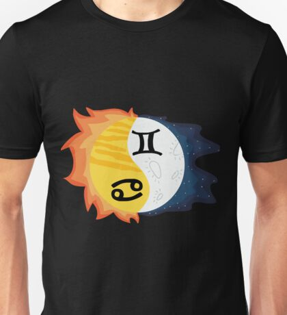 Cancer Sun, Gemini Moon Unisex T-Shirt