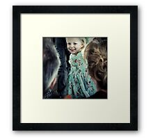 The Bridesmaid Framed Print