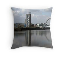 Squinty Reflection Throw Pillow
