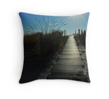 Road to the Sun Throw Pillow
