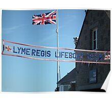 Lyme Regis Lifeboat Week Poster